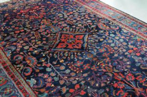 BEAUTIFUL LILIAN CARPET, PERSIA AROUND 1940, ca. 355 x 250 cm